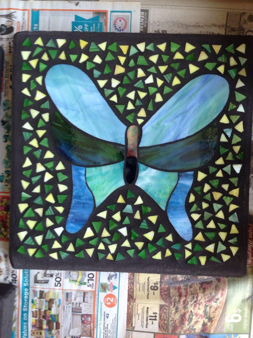 Blue/green butterfly