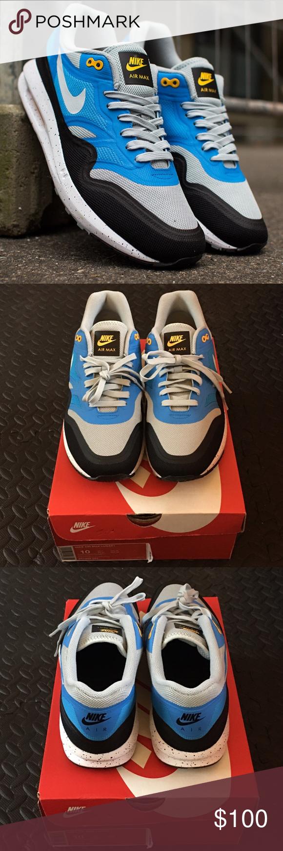 best website e5e19 33708 ... discount code for nike air max lunar 1 sneakers nike air max lunar 1  sneakers silver