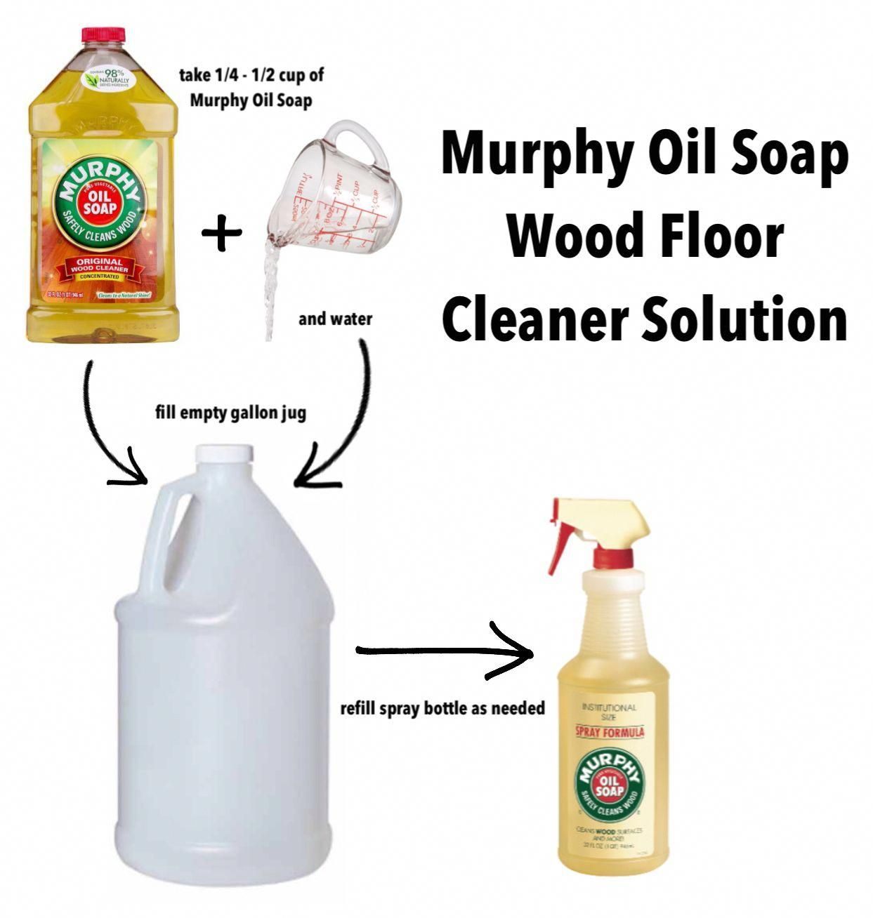 ('Murphy Oil Soap Wood Floor Cleaner Solution