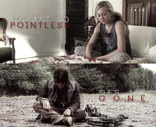 Bethyl- I like how they brought up that time from season 2 in 'still'. back then they were both going through the same hopeless emotions and don't get me wrong, their pairing came out of nowhere for me..... practically hit me with a baseball bat:) but looking back at them now, it fit soo well this whole time and just works perfectly