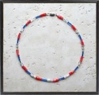 Freedom Reigns Handmade Glass Anklet $9.00