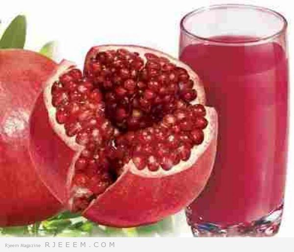 وداعا للكرش و للدهون مع عصير الرمان و الليمون مجلة رجيم Pomegranate Juice Pomegranate Pomegranate Benefits