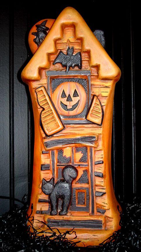 vintage halloween decoration that lights-up Vintage Halloween - vintage halloween decorations