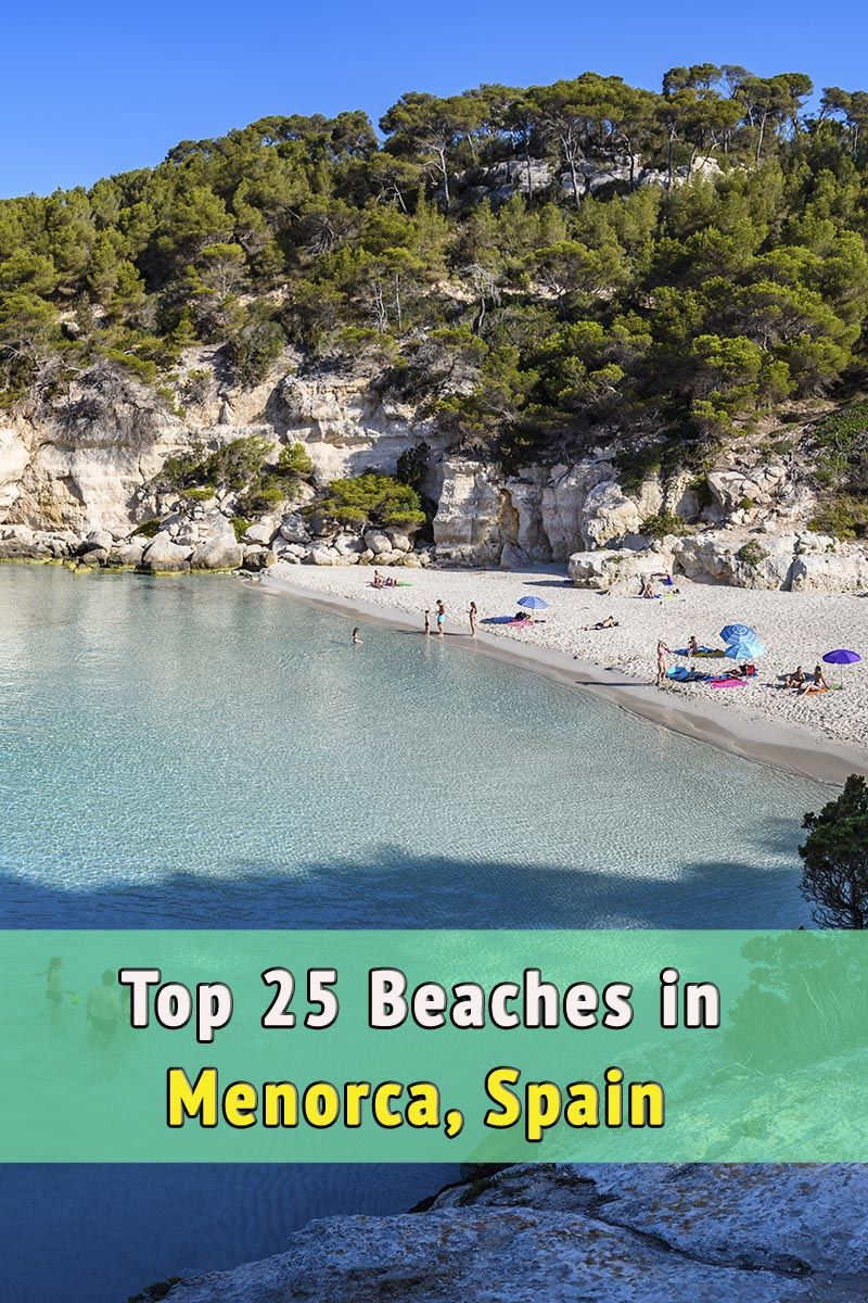 The 25 best BEACHES and COVES in MENORCA | Beach Travel ...