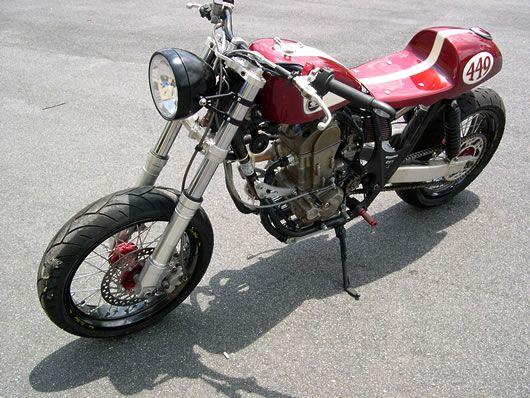moto cbr 450sr a venda no rs