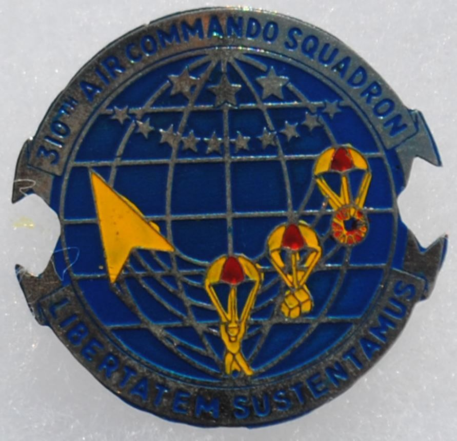 Wartime 310th Air Commando Squadron Beer Can / Crest / Insignia