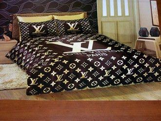 Lenzuola Matrimoniali Louis Vuitton.Home Accessory Louis Vuitton Fashion Bedding Classy Love