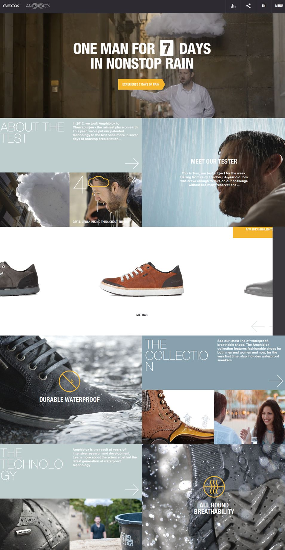 thoughts on differently buy best geox website web design ui ux one page one page magazine ...