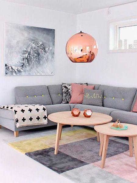 Cómo Crear Un Rincón Lounge En Tu Salón Apuesta Por El Color Gris Living Rooms Room And House