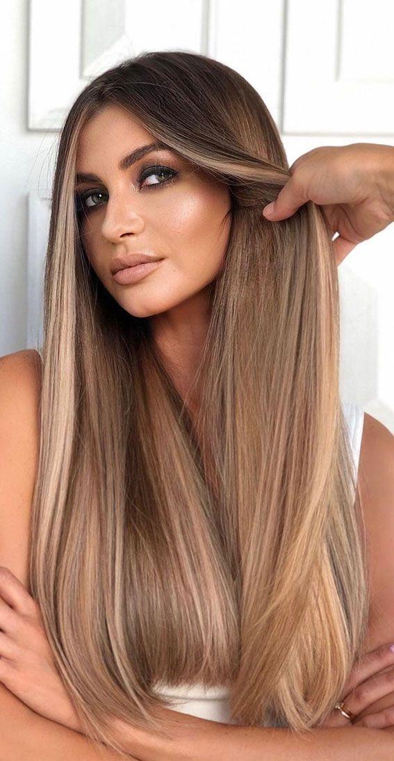 37 Brown Hair Colour Ideas And Hairstyles : Honey