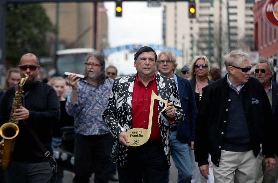 Beale Street Brass Note will honor Memphisborn Aretha
