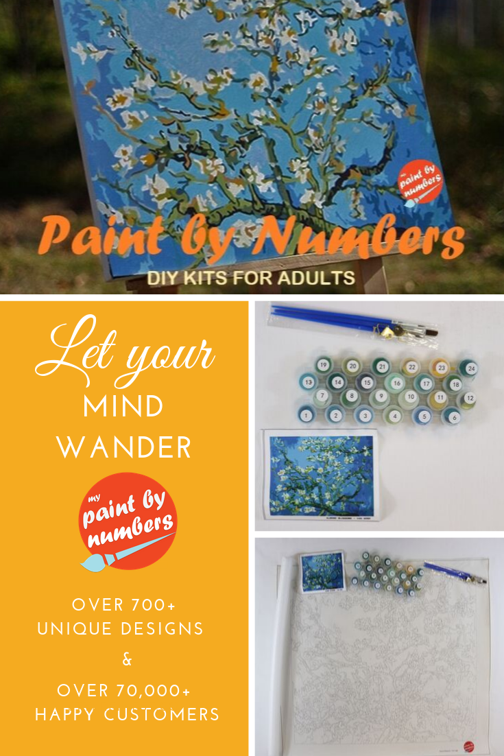My Paint by Numbers | Kits up to 50% Off Plus Free Shipping