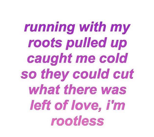 rootless - marina and the diamonds | *Marina and the