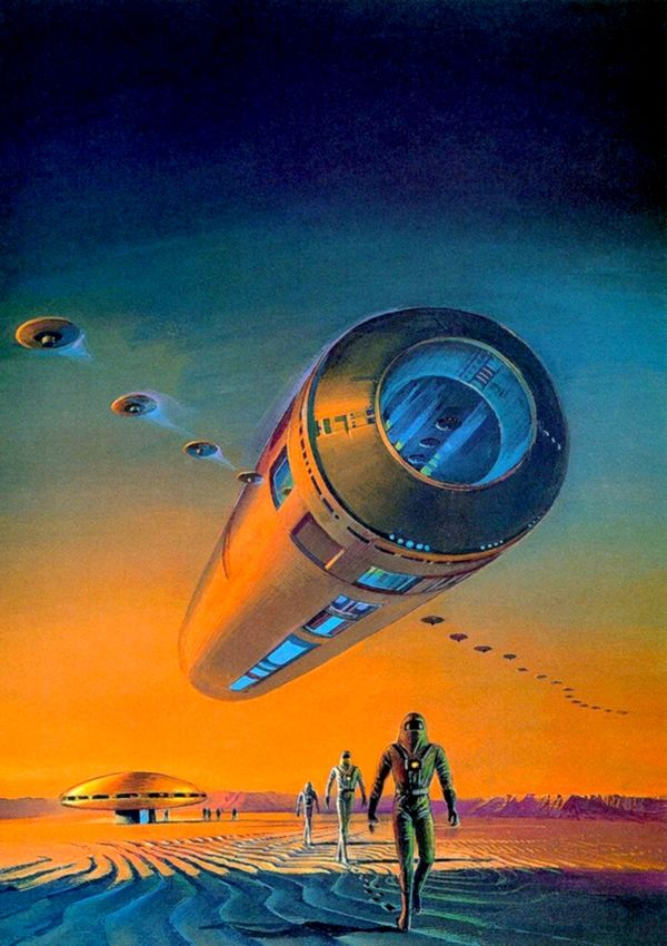 Voyage Of The Space Beagle Bruce Pennington Science Fiction