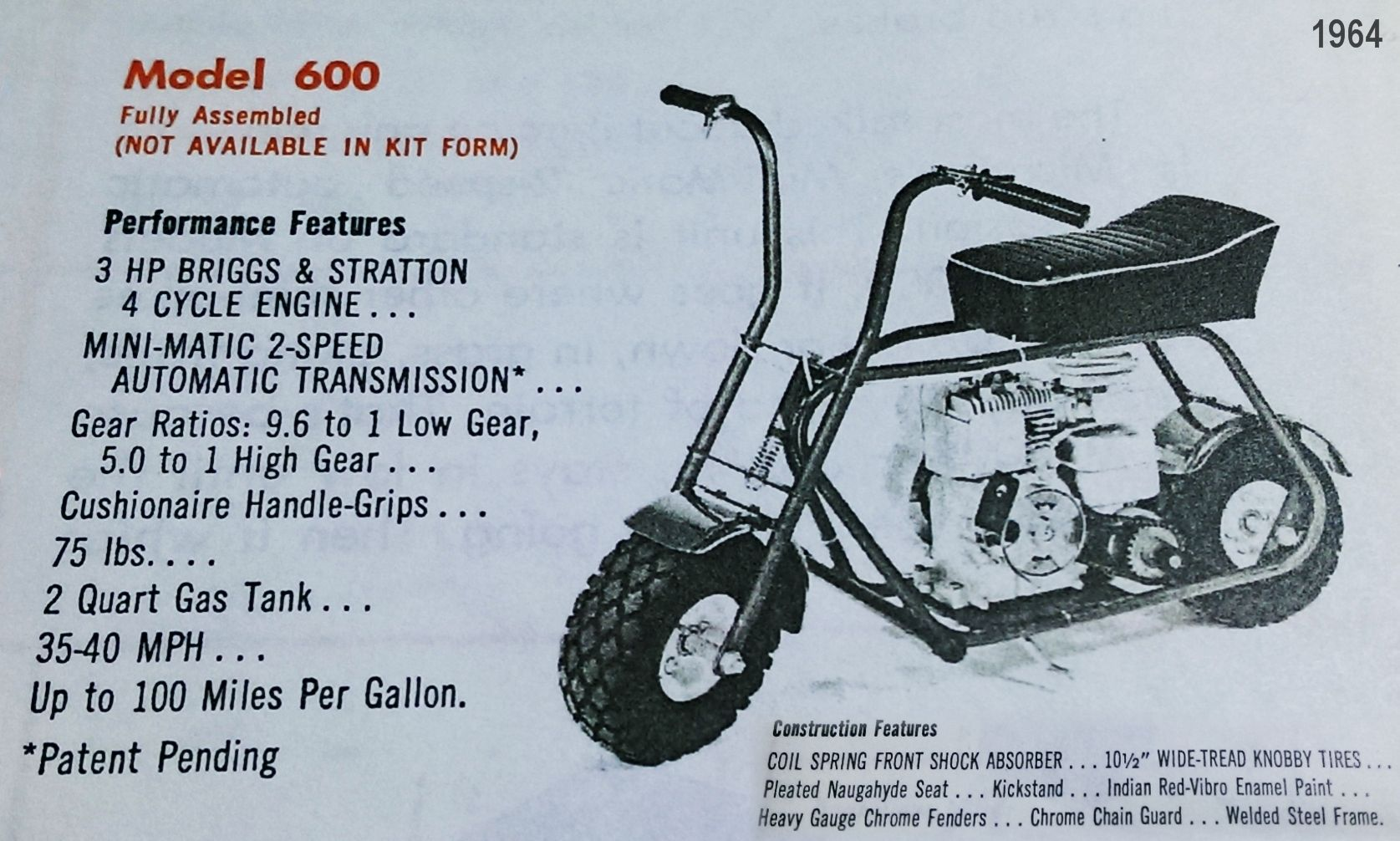 C E Ac Ef E Bd Ed F on Lil Indian Mini Bike