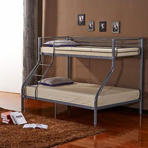 Bn Metal Bunk Bed Frame Triple Person For Adult Children 3ft Single