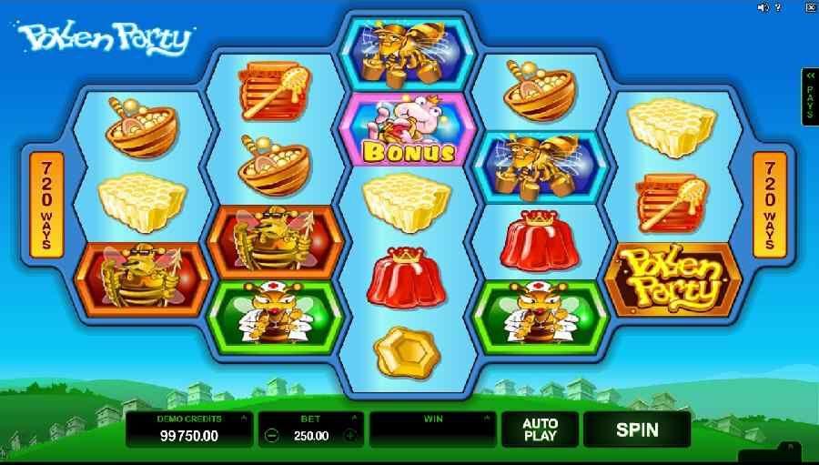 Pollen Party Slot Machine