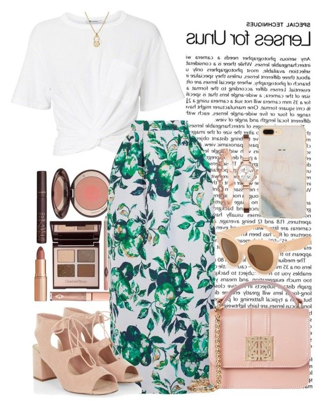 """""""LUNCH CLEVELAND"""" by staydiva on Polyvore featuring moda, Charlotte Tilbury, T By Alexander Wang, Merchant Archive, Roberto Coin y DKNY"""