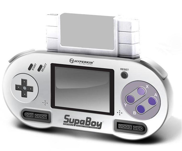 SupaBoy Portable Pocket SNES Game Console