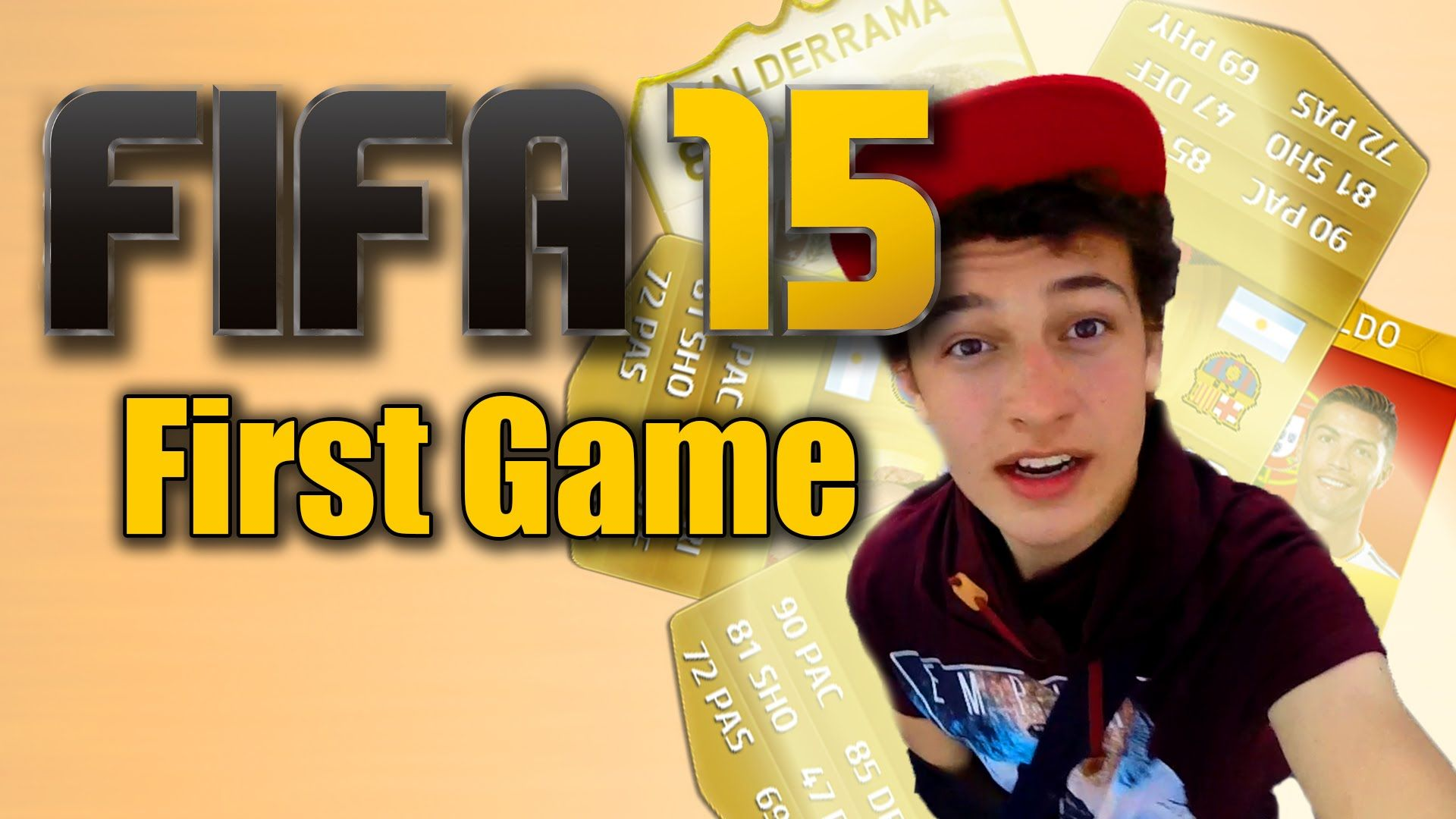 MY FIRST FIFA 15 GAME