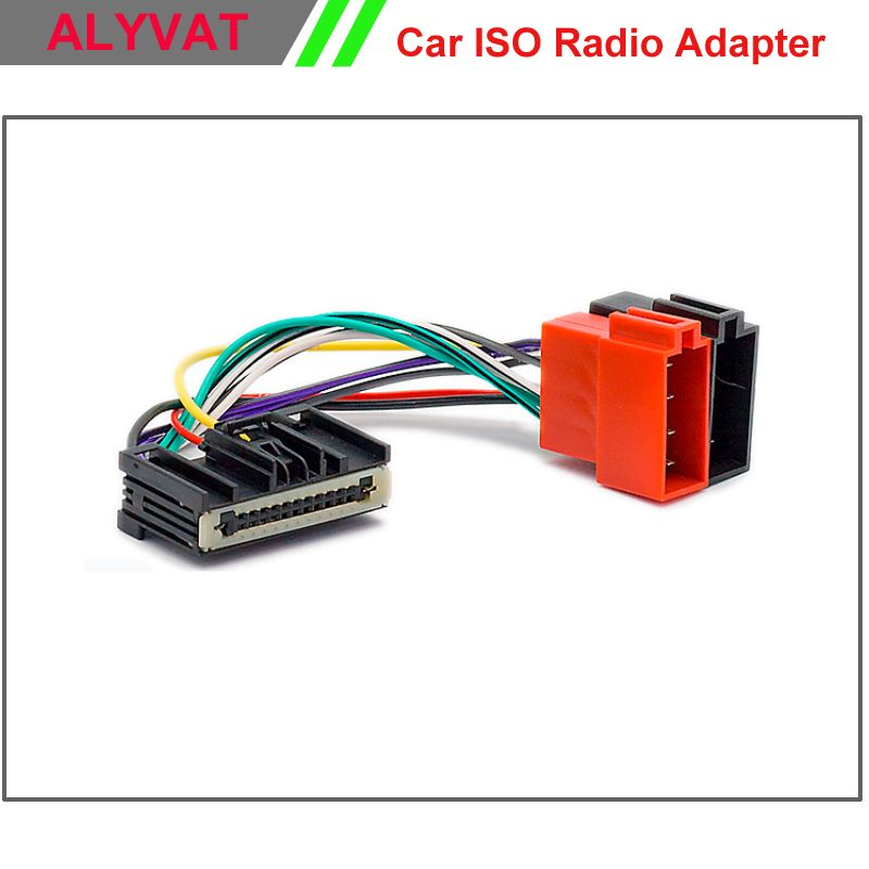 Car ISO Radio Adapter Connector For Ford Focus 2011