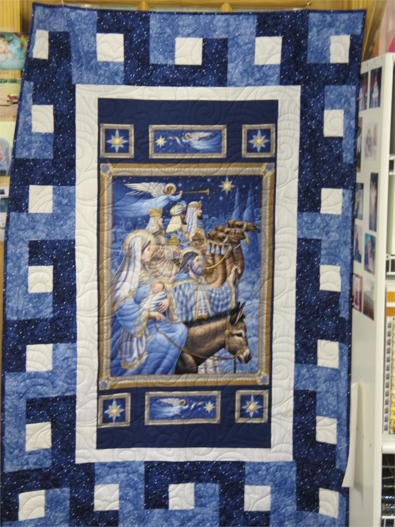 quilt panel ideas | Nativity Panel Quilt Kit | MonsterMarketplace ... : quilt panel kits - Adamdwight.com