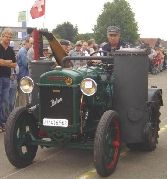 Ganz und zu Extrem Bührer C Holzvergaser | Tractor & Co | Traktor schlepper #XX_72