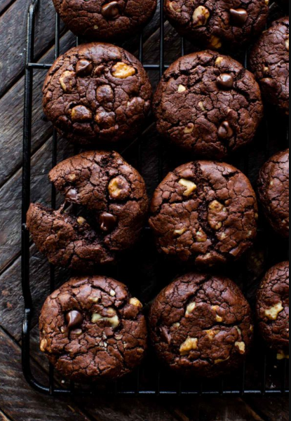 Resep Praktis Brownies Cookies Resep Biskuit Ide Makanan Makanan