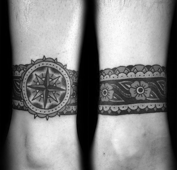 Top 57 Ankle Band Tattoo Ideas 2020 Inspiration Guide Ankle Band Tattoo Tribal Band Tattoo Band Tattoo