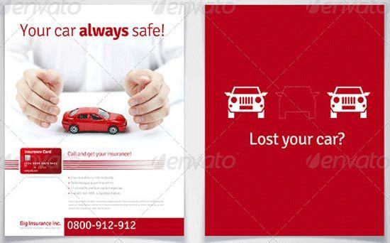 13 Printable Insurance Flyer Template Flyer Template Templates Flyer