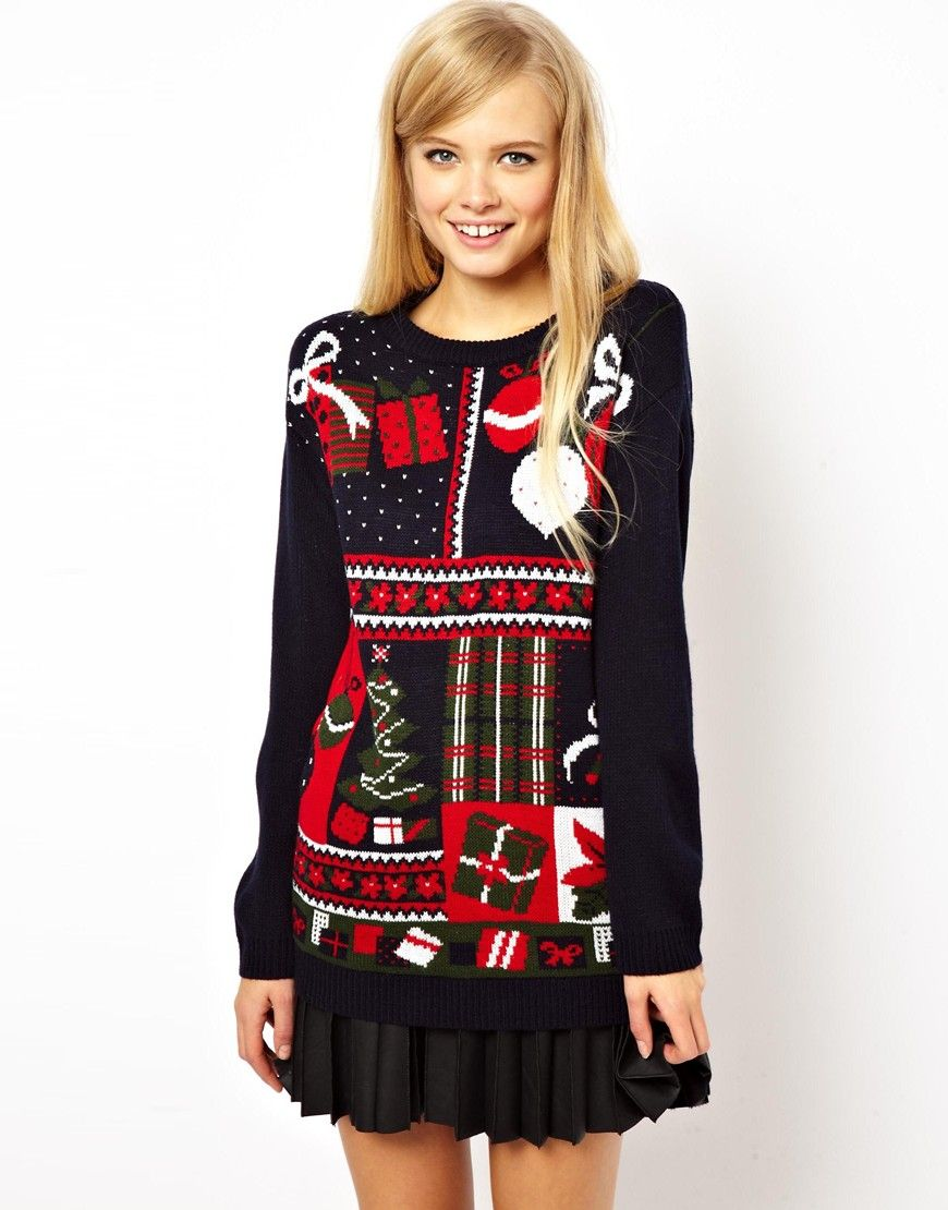 Ugly Holiday Sweater: Shop at @asos.com and #paypalit for this ...