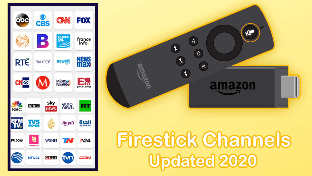 What Channels Do You Get With Firestick Channels List 2020 Fire Tv Stick Amazon Fire Stick Amazon Fire Tv Stick