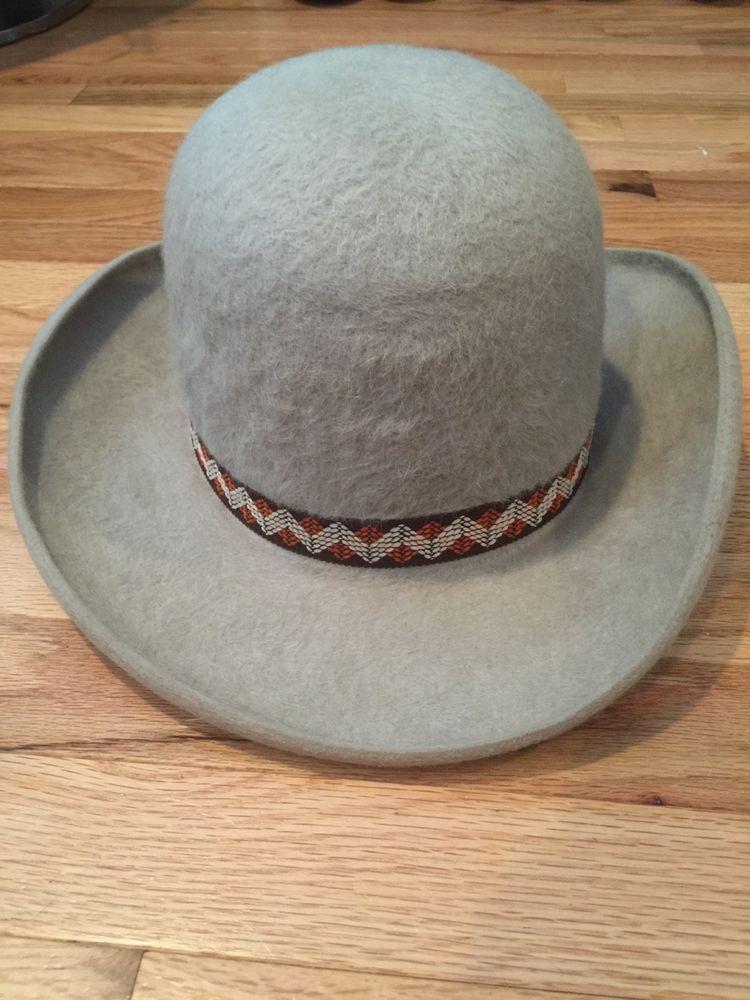 7397575a9131f Details about Vintage Resistol XDoubleX Self Conforming Cowboy Hat ...