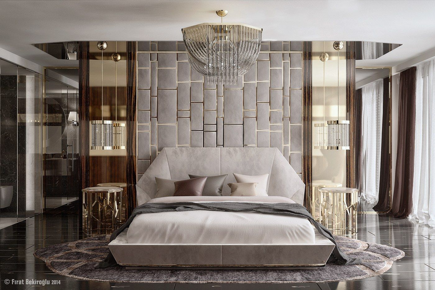 7 Stylish Bedrooms With Lots Of Detail Glamourous Bedroom Luxury Bedroom Master Luxurious Bedrooms Elegant luxury bedroom pictures