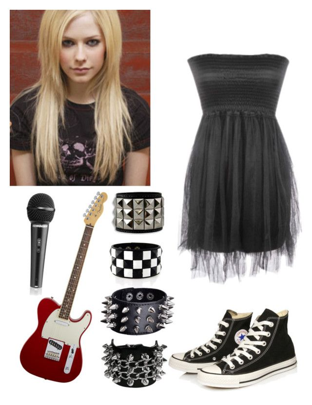 U0026quot;Avril Lavigne inspired outfitu0026quot; by kellyjellybelly liked on Polyvore featuring American Standard ...