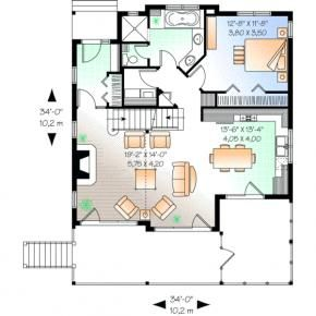 Search Monster House Plans And Buy A House Plan Home And Floor Plans Cottage Floor Plans Country Style House Plans House Plans
