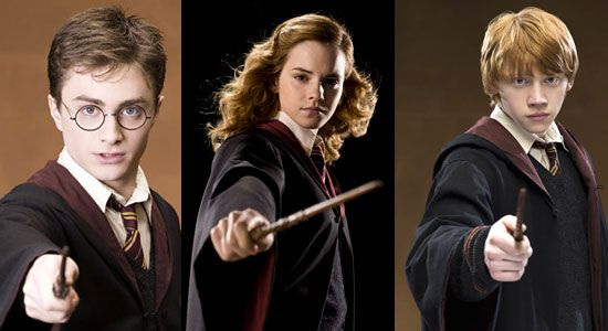 The harry potter story so far top 10 films movie lists harry potter pinterest - Hermione granger et ron weasley ...