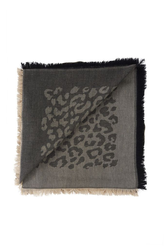 #ANINEBING Leo Patterned Scarf