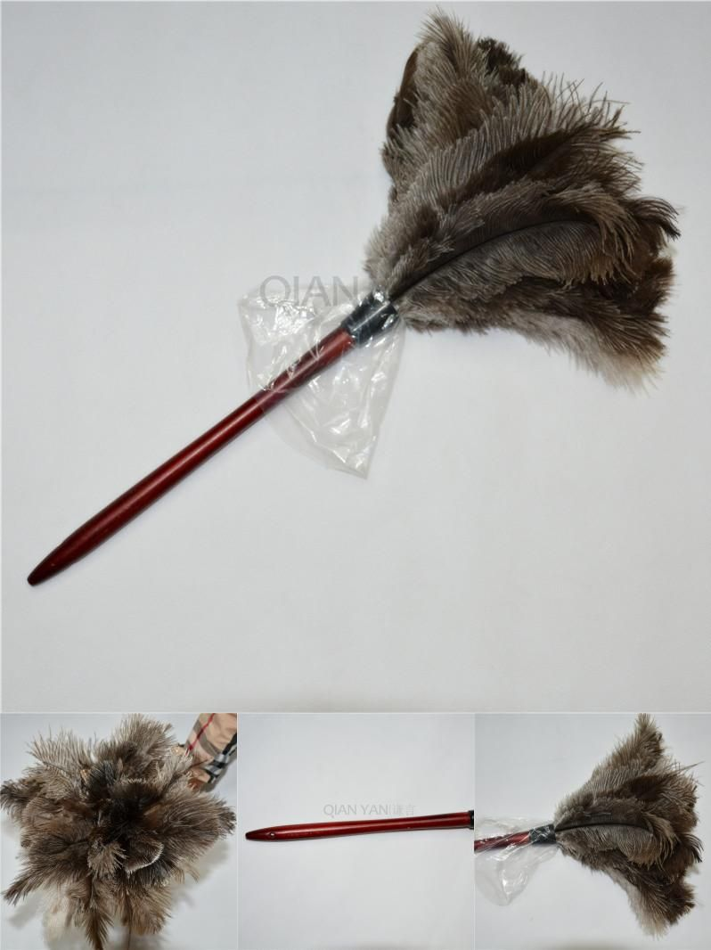 furniture duster. Anti Static Natural Fall Ostrich Feather Duster Brush Furniture W