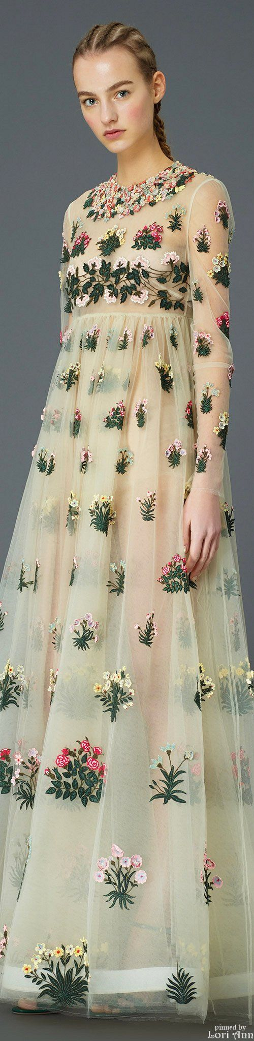 Valentino Pre-Fall 2015 Yo imma get married in this tbh