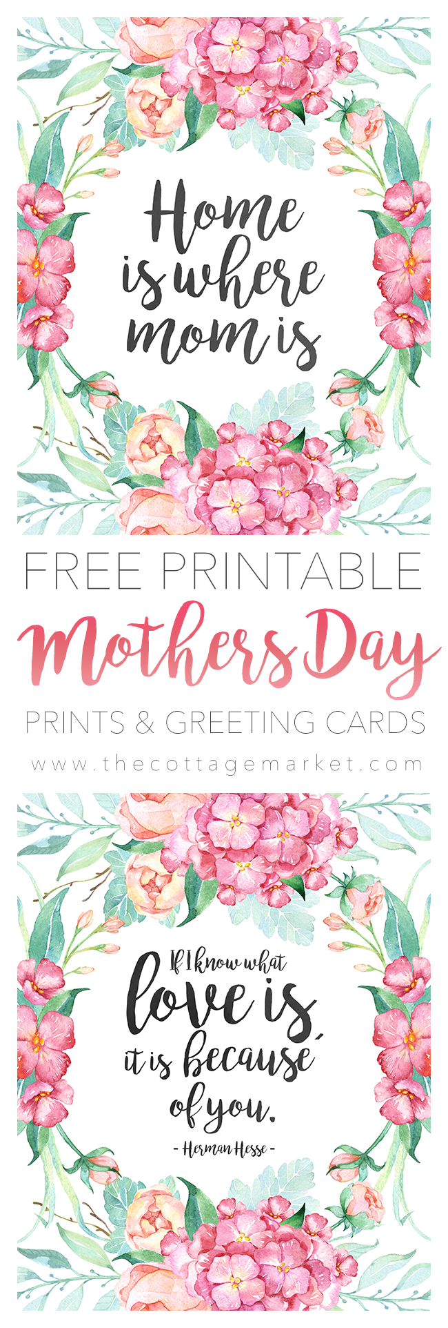 Free Printable Mothers Day Prints And Greeting Cards Printables