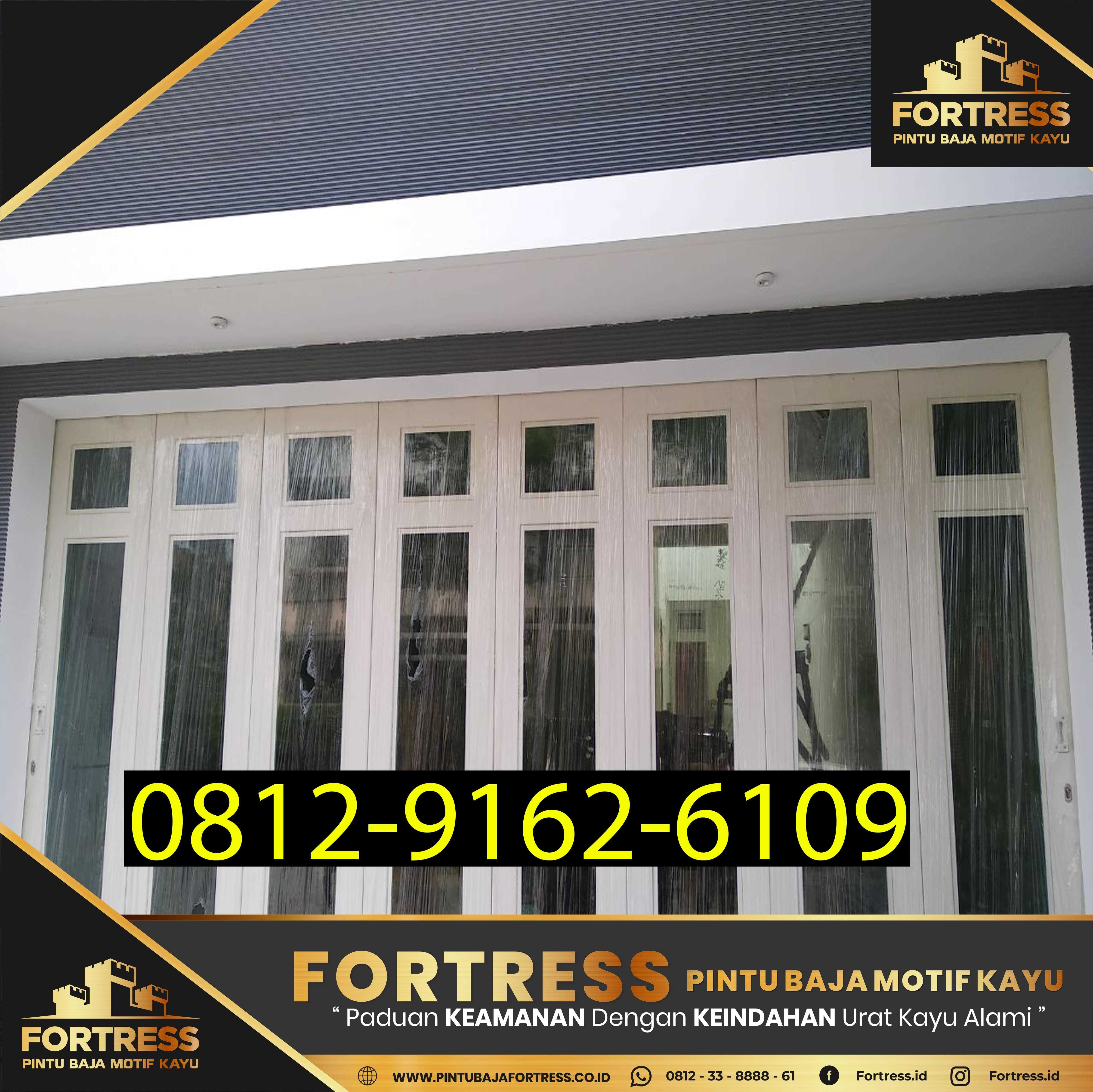 0812-9162-6109 (JBS), Minimalist Garage Doors Made of Iron, Pint…