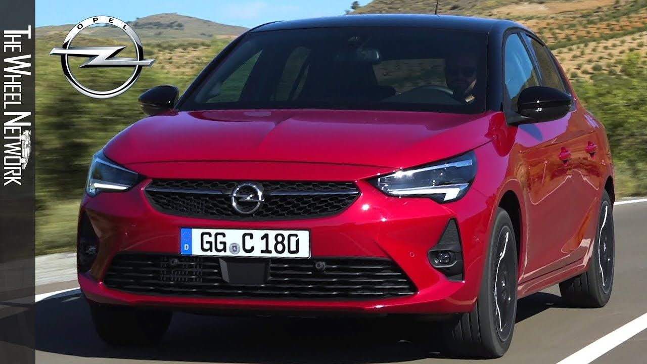2020 Opel Corsa Chili Red Driving Interior Exterior Opel Corsa Opel Chili Red