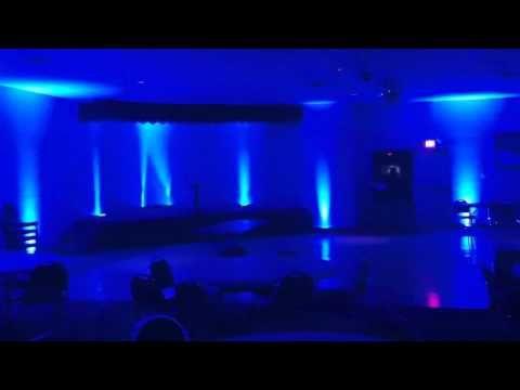 Popular Wedding Reception Uplighting Colors Pittsburgh Dj Pifemaster Youtube Fun Wedding Invitations Wedding Dj Setup Cheap Wedding Invitations
