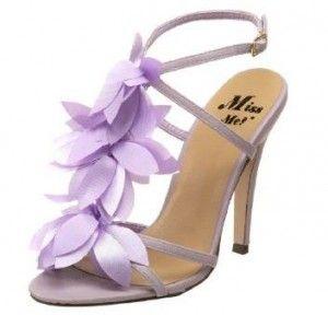 Miss Me Dazzle 32 Purple Wedding Shoes Bridesmaid Shoes