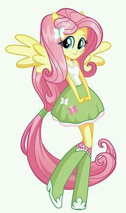 The Adorable Fluttershy As Seen In My Little Pony Equestria Girls Mas