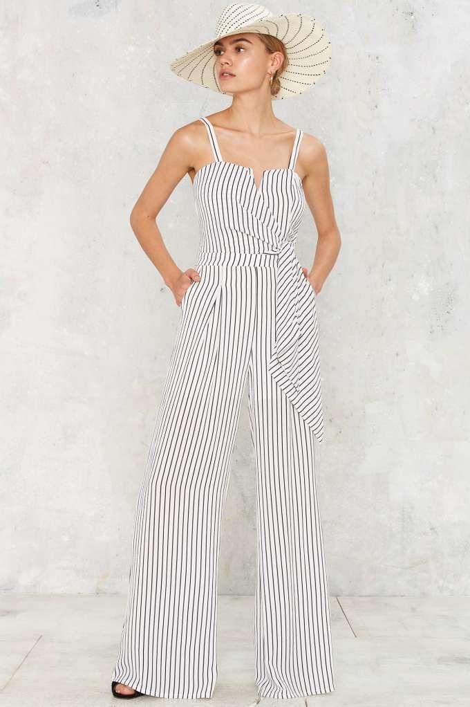 498847ca527 Rachel Striped Jumpsuit