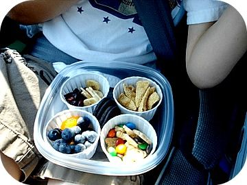 Traveling with Kids - Snacks