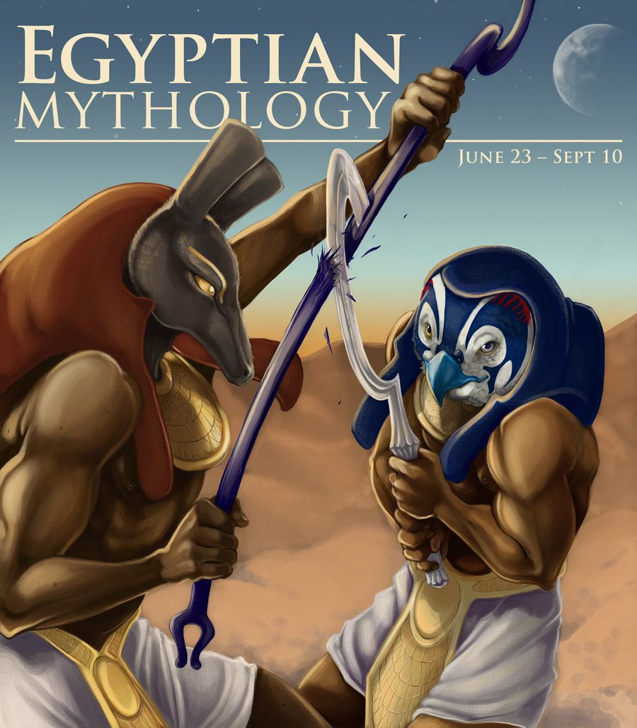 Egyptian Mythology by NoSafeHaven.deviantart.com | Egypt's God ...