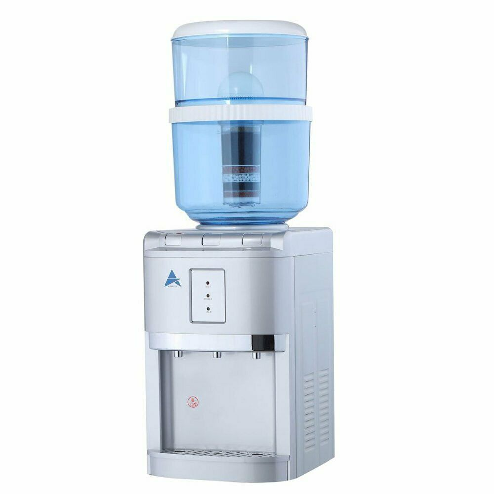 Benchtop Water Cooler Silver Aimex Australia New Benchtop Awesomewaterfilter Coolerpurifierdispe Water Coolers Coolers For Sale Best Water Filter